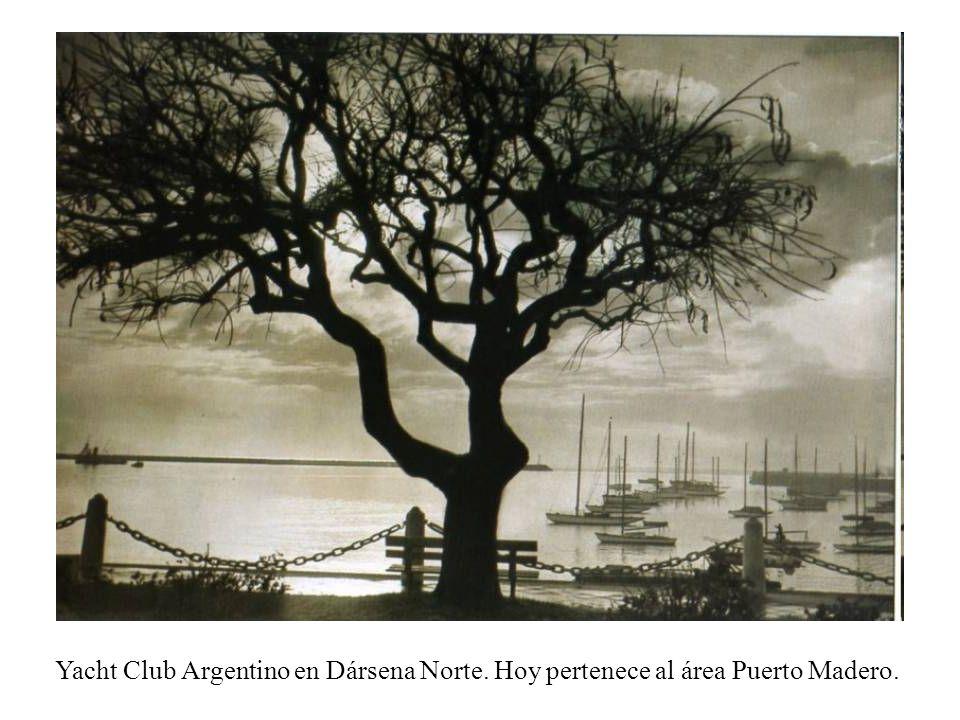 Yacht Club Argentino en Dársena Norte