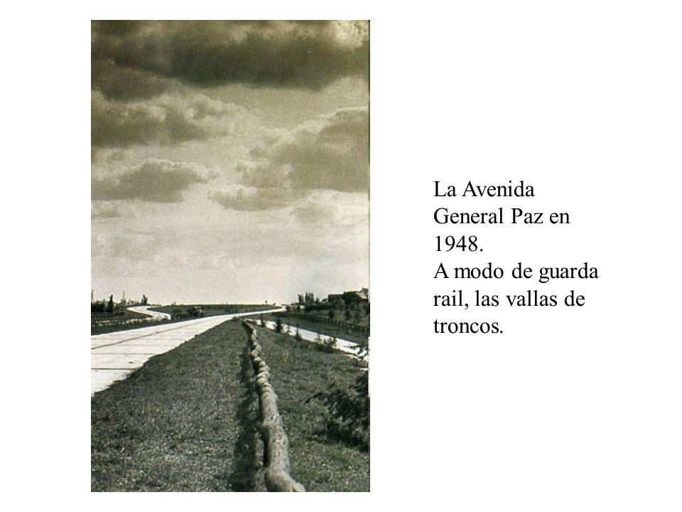 La Avenida General Paz en 1948.