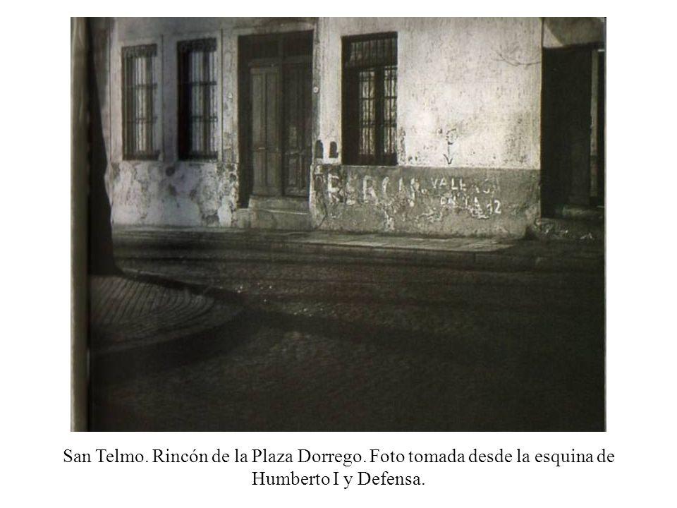 San Telmo. Rincón de la Plaza Dorrego