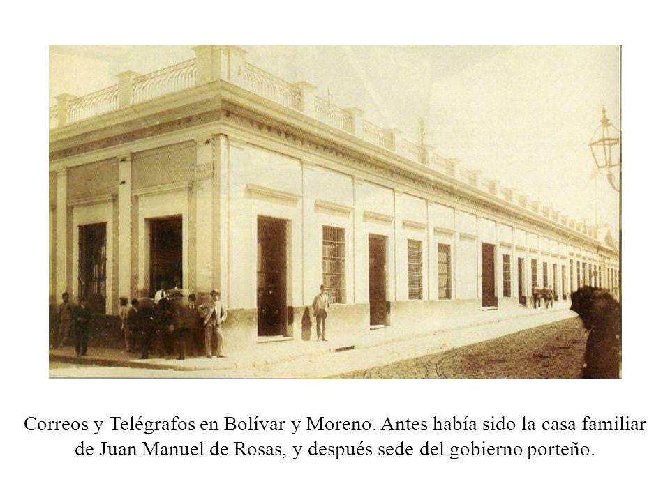 Correos y Telégrafos en Bolívar y Moreno
