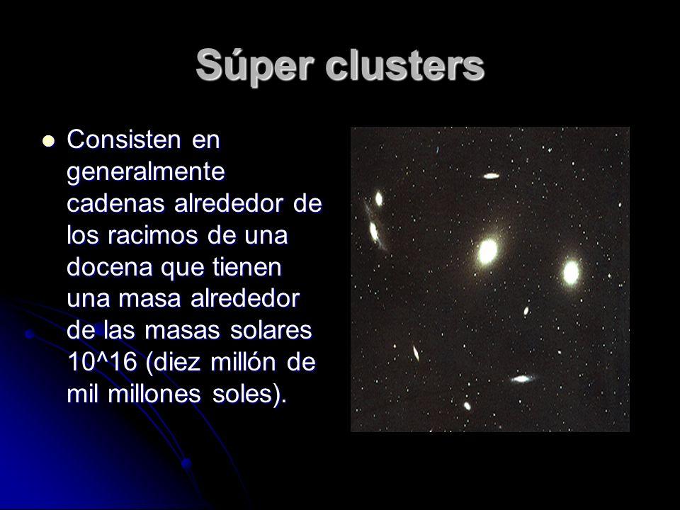 Súper clusters
