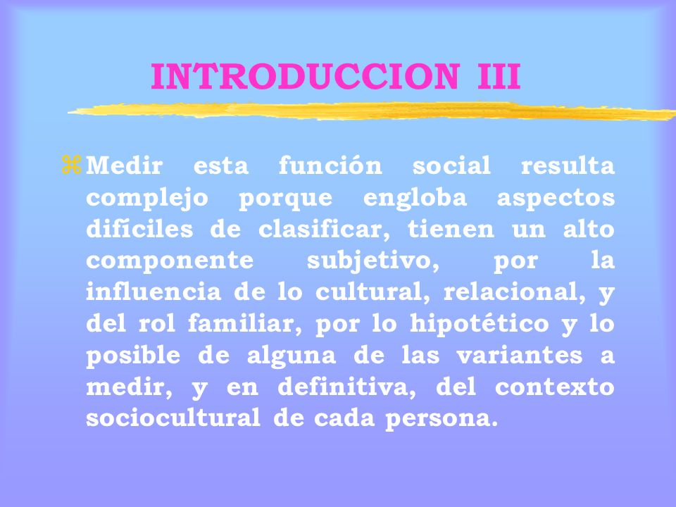 INTRODUCCION III