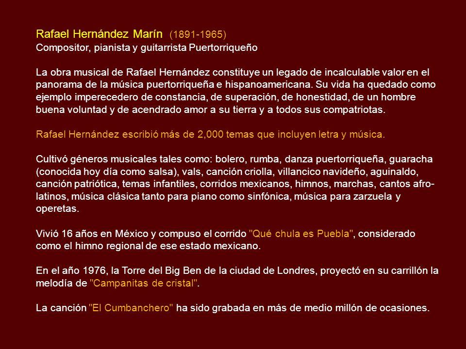 Rafael Hernández Marín (1891-1965)