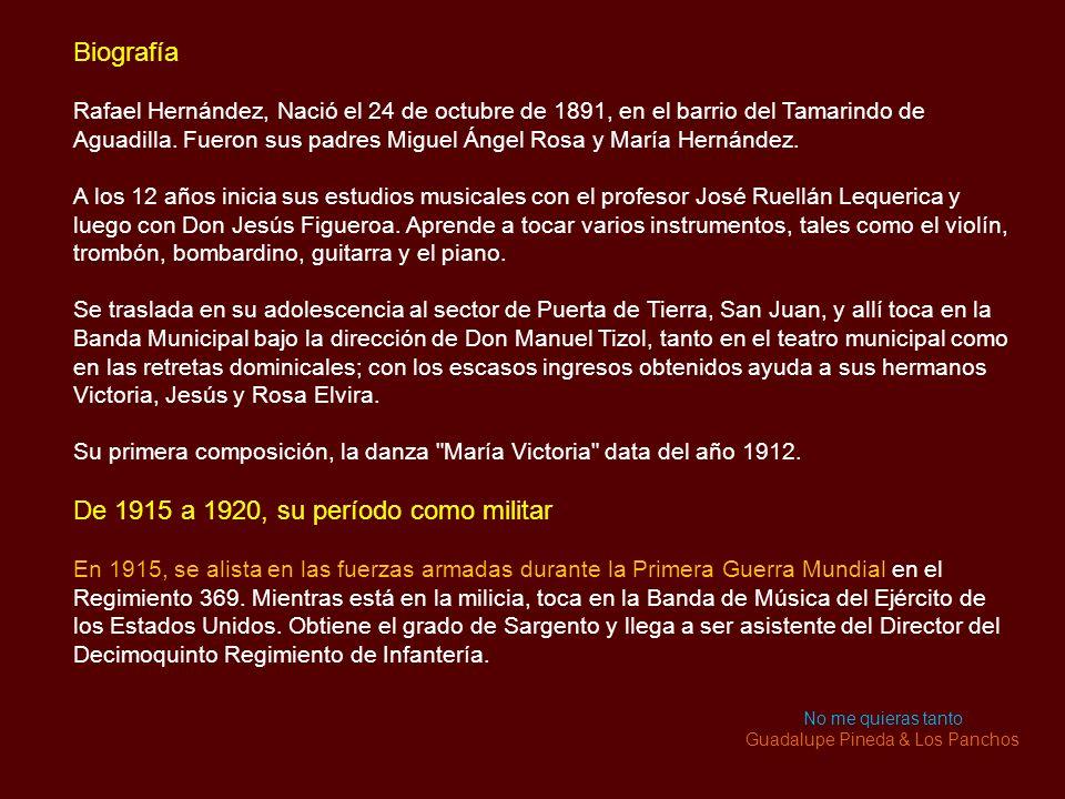 Guadalupe Pineda & Los Panchos