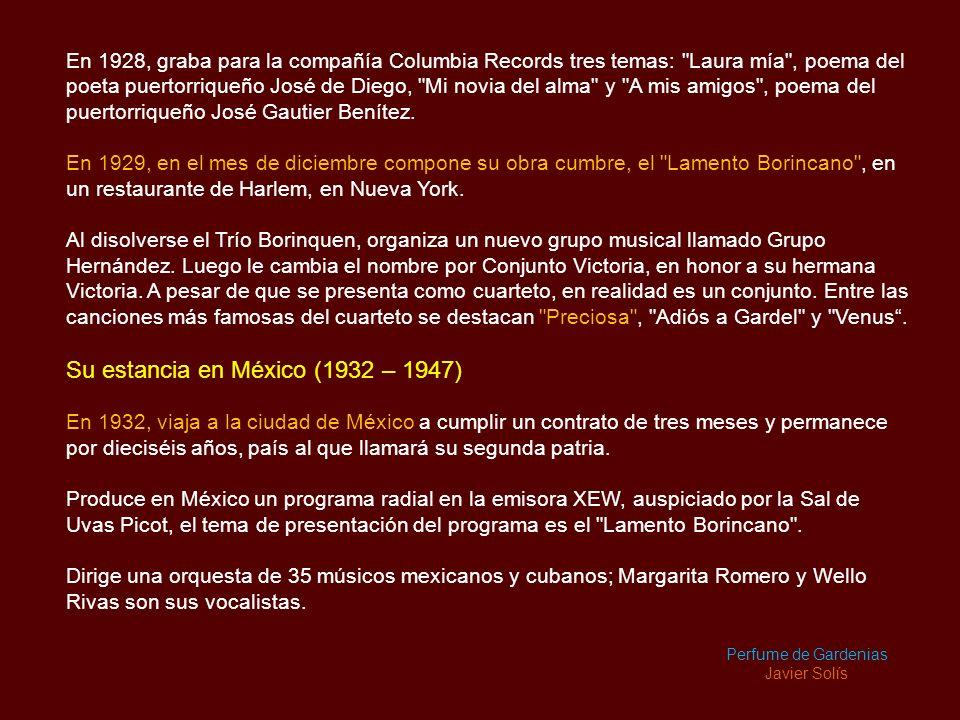 Su estancia en México (1932 – 1947)