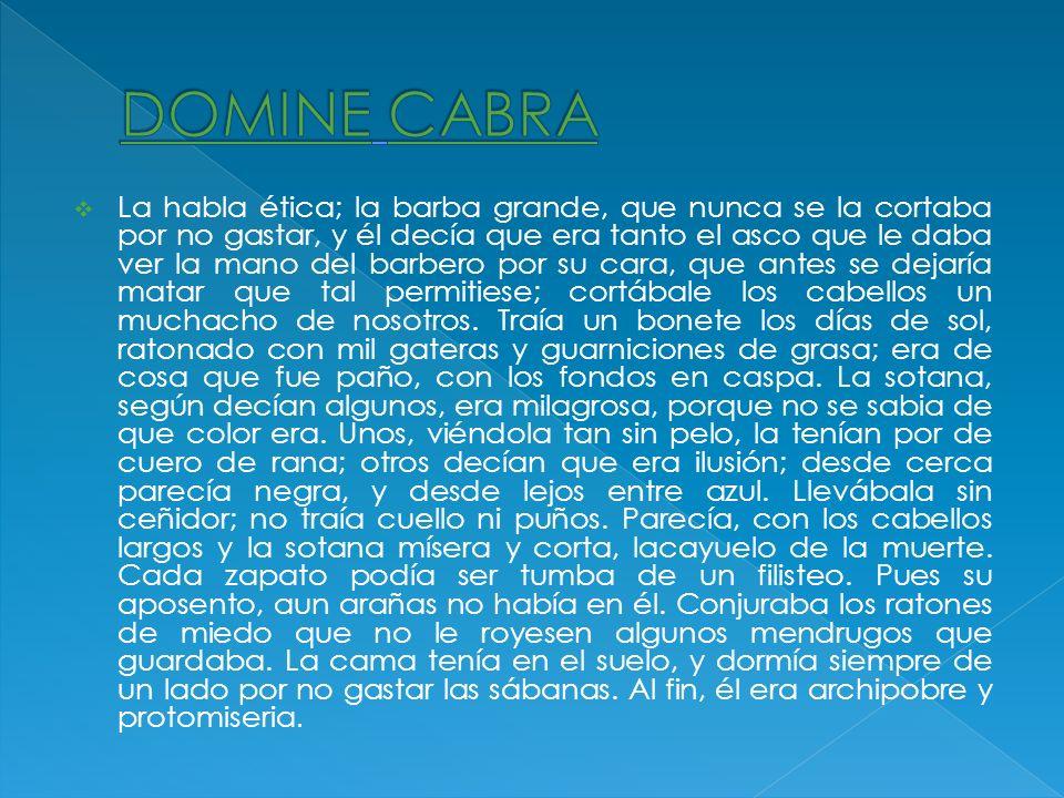 DOMINE CABRA