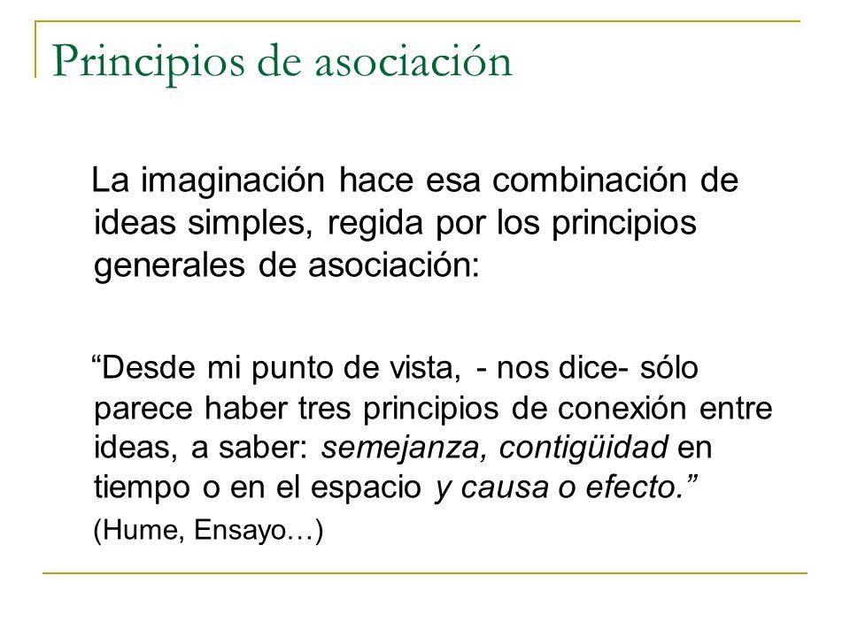 Principios de asociación