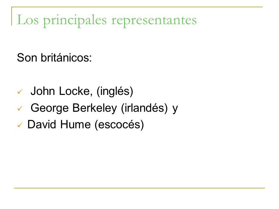 Los principales representantes