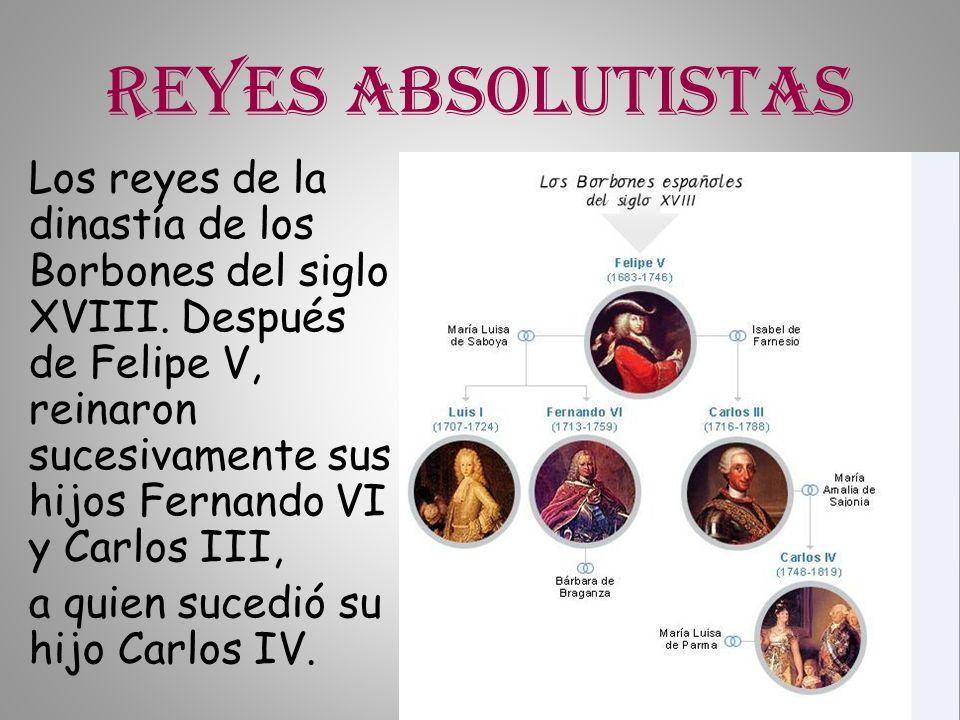 Reyes absolutistas