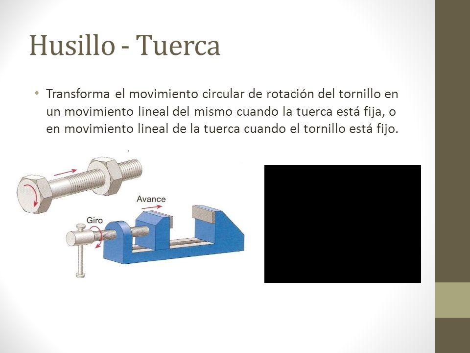 Husillo - Tuerca