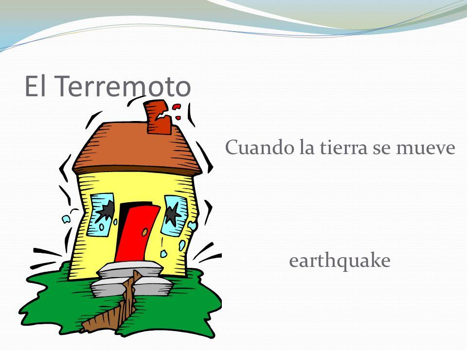 El Terremoto Cuando la tierra se mueve earthquake
