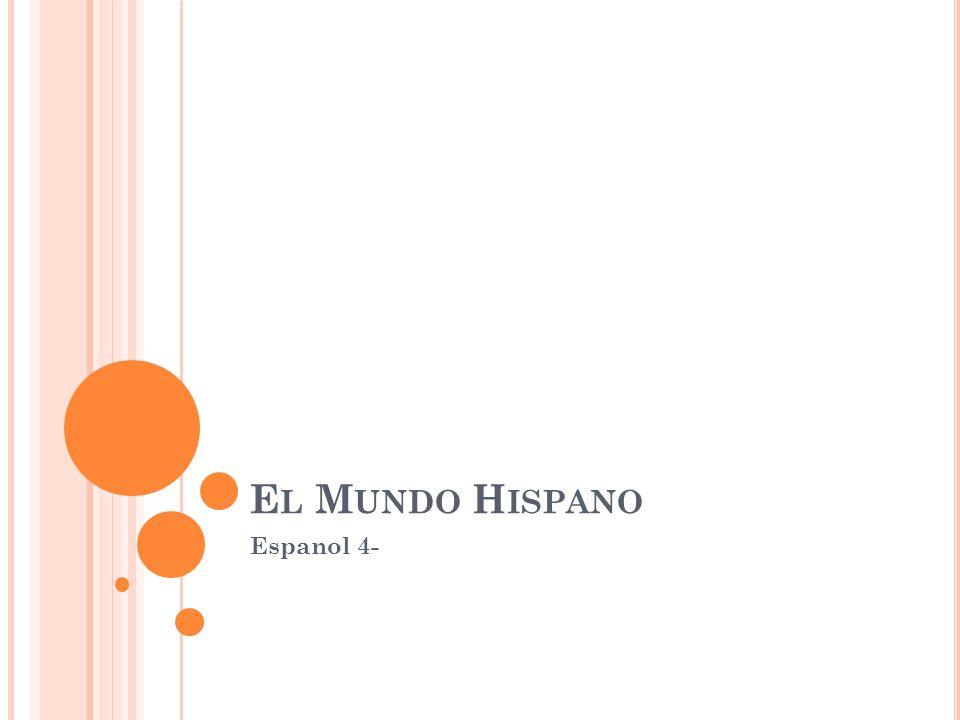 El Mundo Hispano Espanol 4-