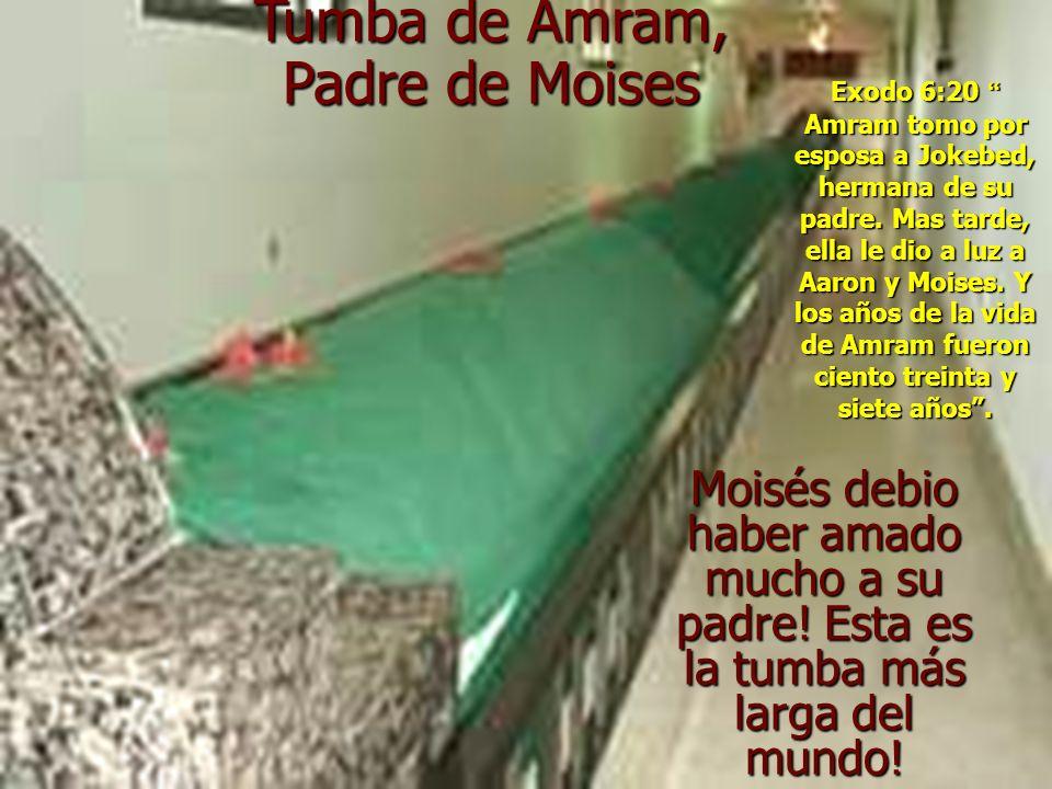 Tumba de Amram, Padre de Moises