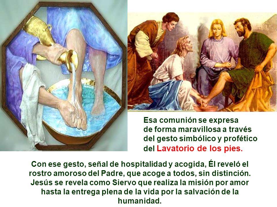 Jesús se revela como Siervo que realiza la misión por amor