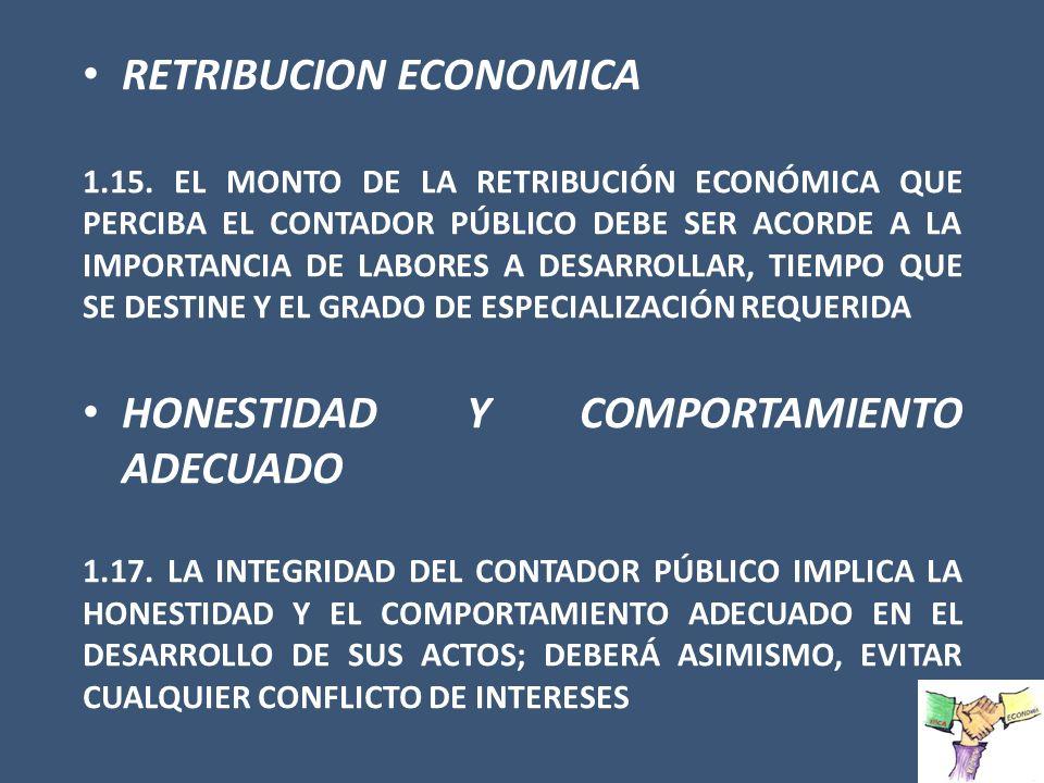 RETRIBUCION ECONOMICA
