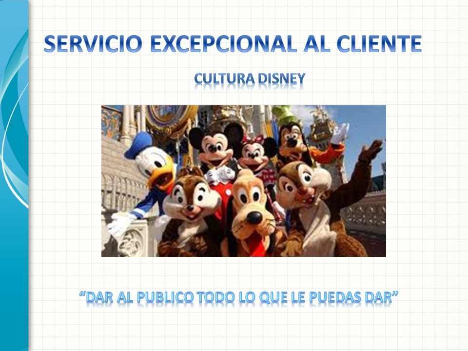 SERVICIO EXCEPCIONAL AL CLIENTE