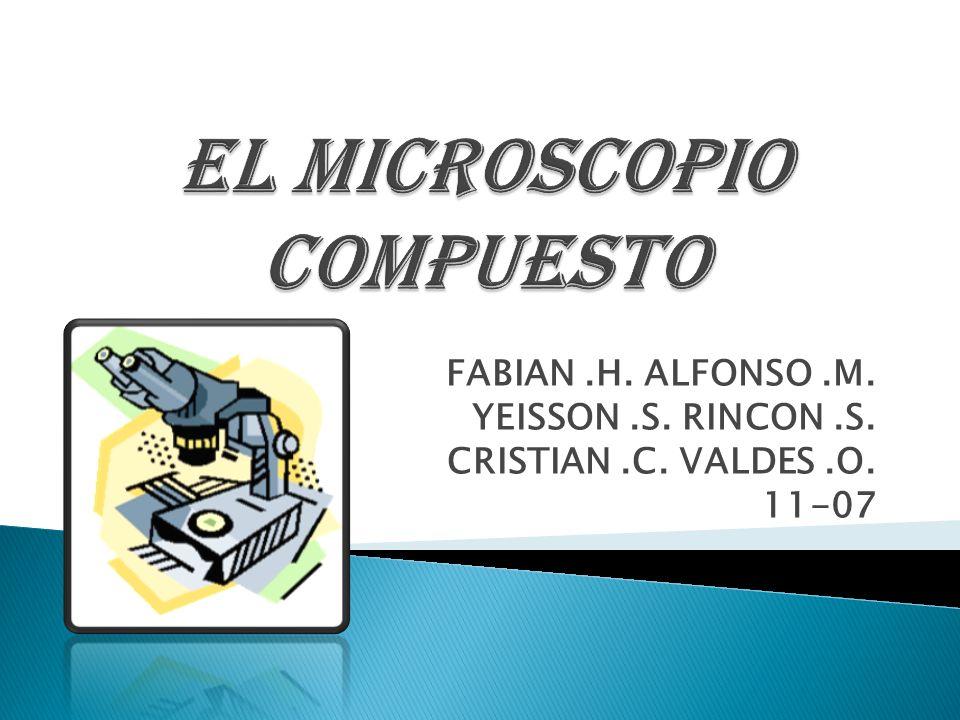EL MICROSCOPIO COMPUESTO