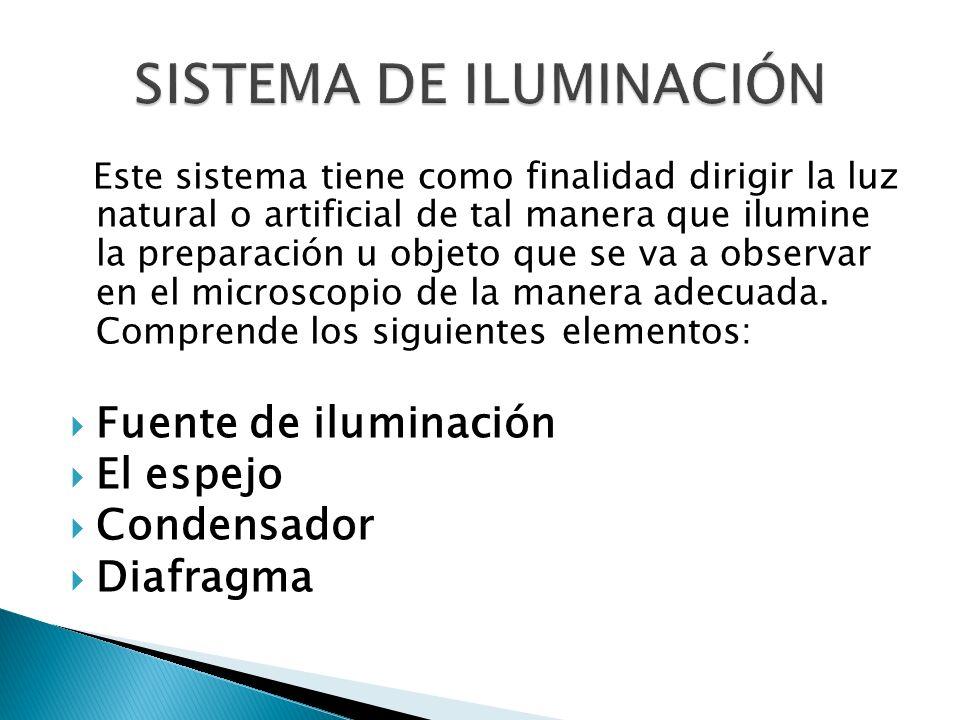 SISTEMA DE ILUMINACIÓN