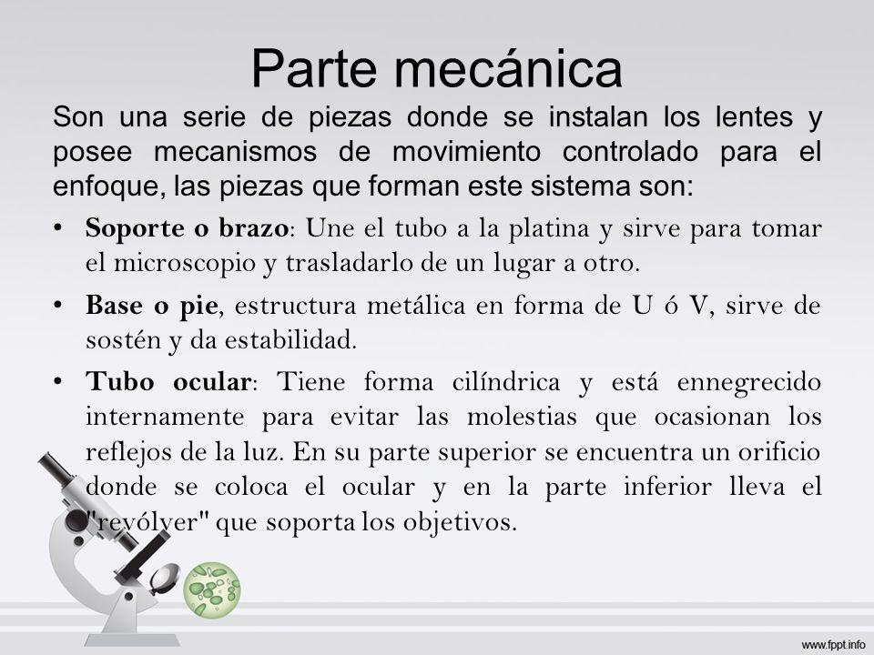 Parte mecánica