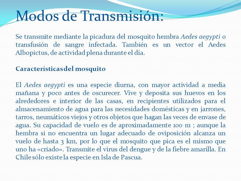 Modos de Transmisión: