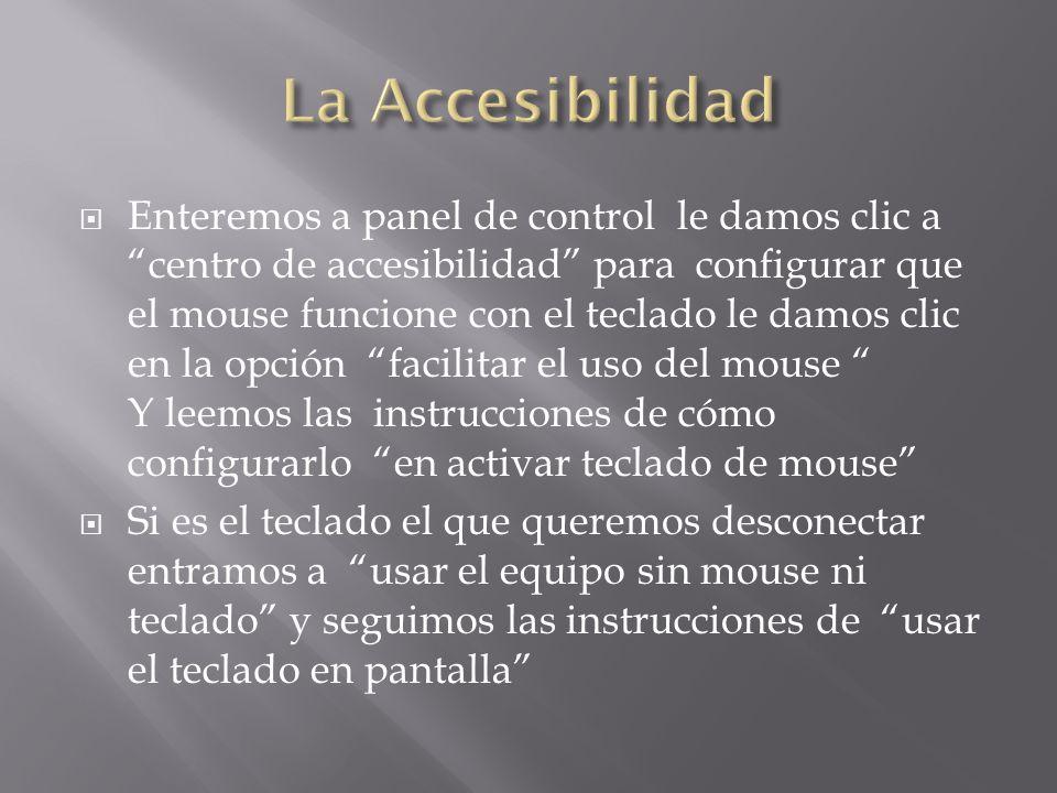 La Accesibilidad
