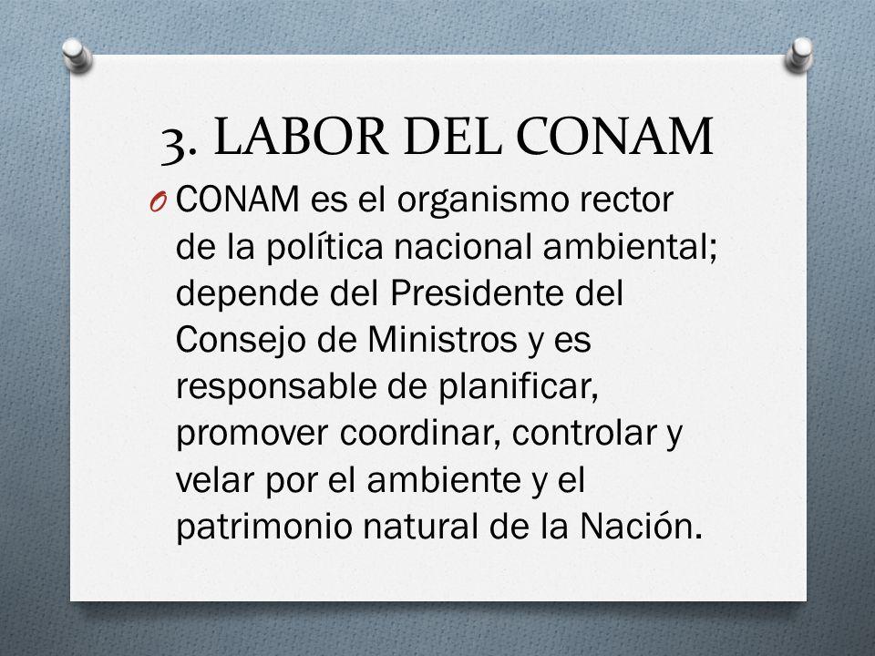3. LABOR DEL CONAM