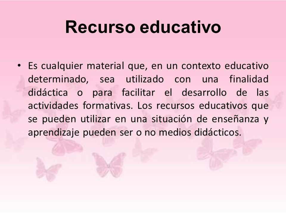 Recurso educativo
