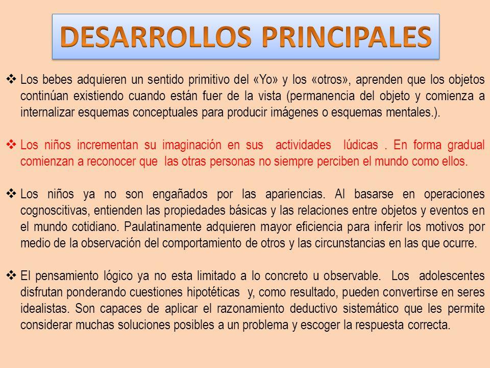 DESARROLLOS PRINCIPALES