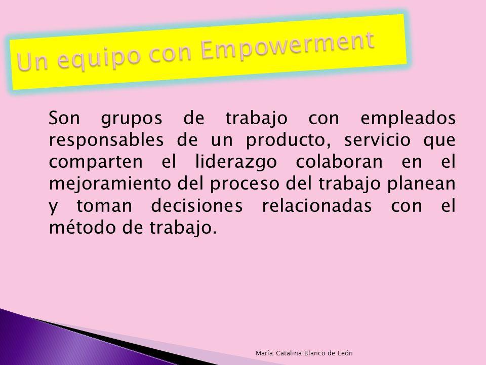Un equipo con Empowerment