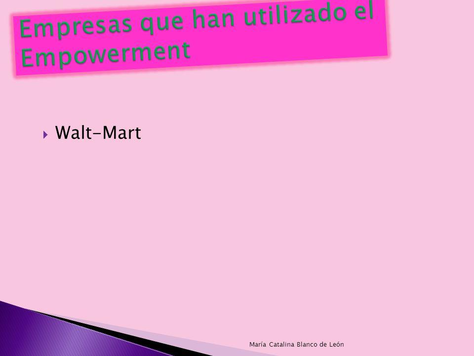Empresas que han utilizado el Empowerment