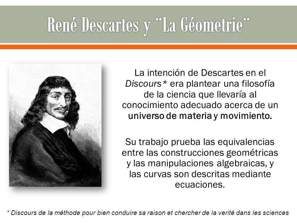 René Descartes y ¨La Géometrie¨