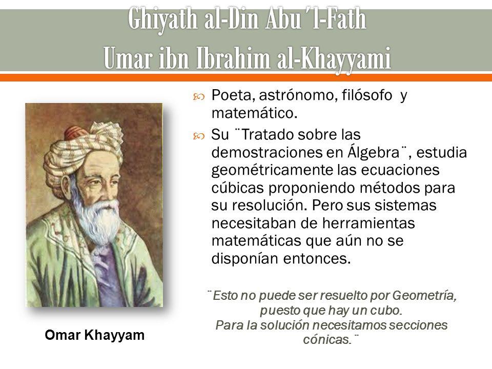 Ghiyath al-Din Abu´l-Fath Umar ibn Ibrahim al-Khayyami