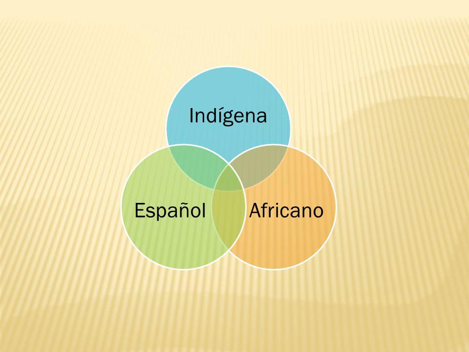Indígena Africano Español