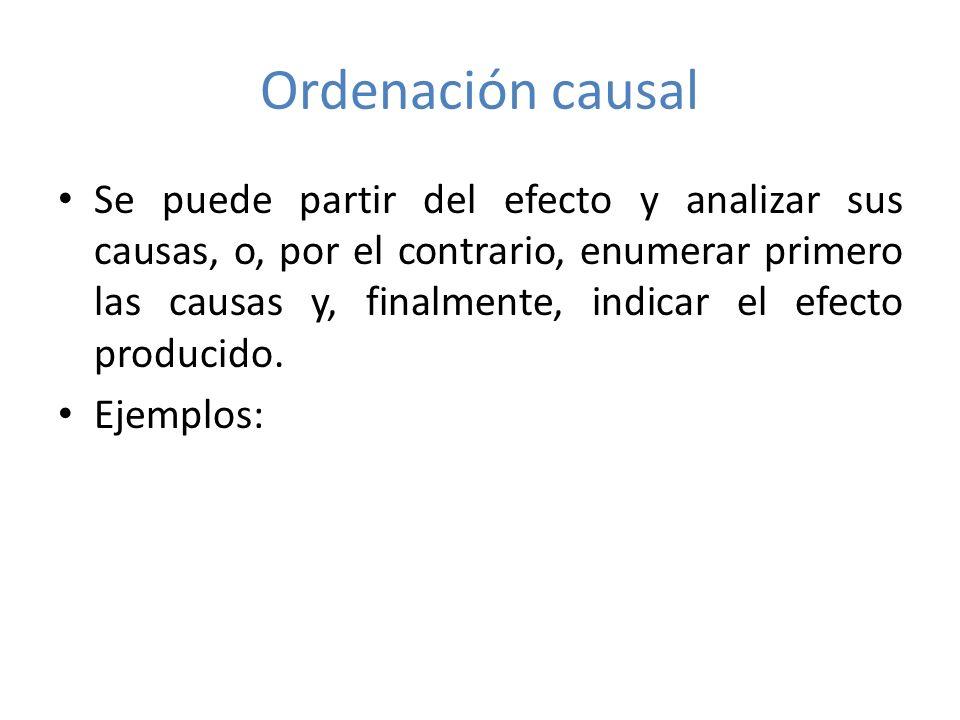 Ordenación causal