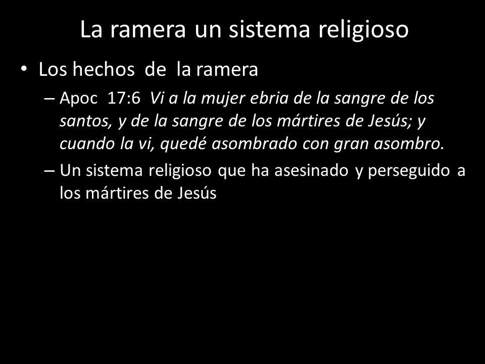La ramera un sistema religioso