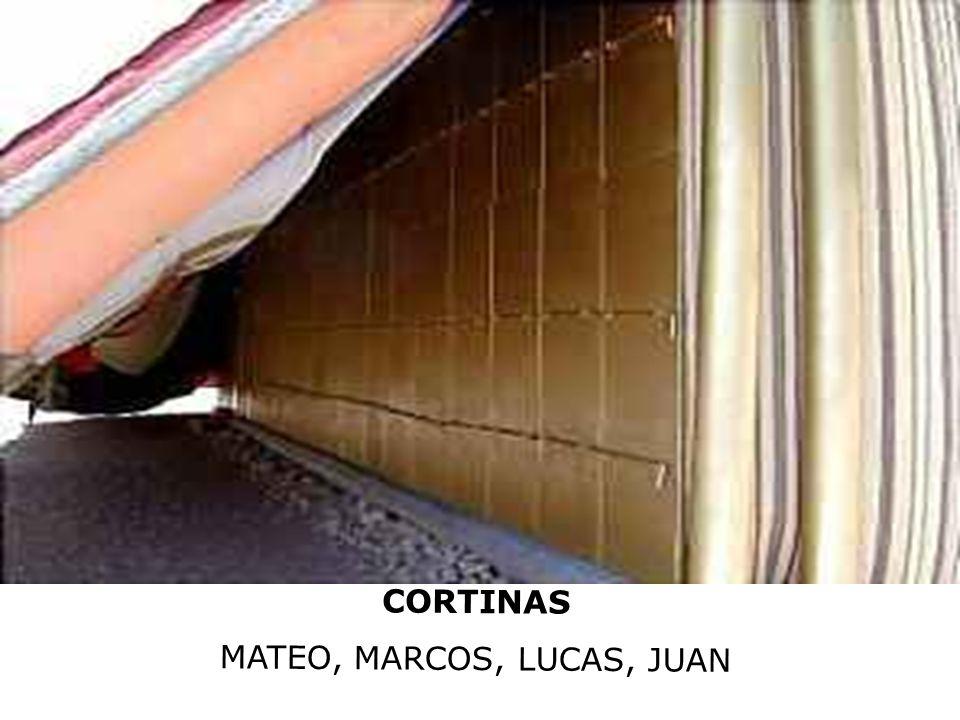 MATEO, MARCOS, LUCAS, JUAN