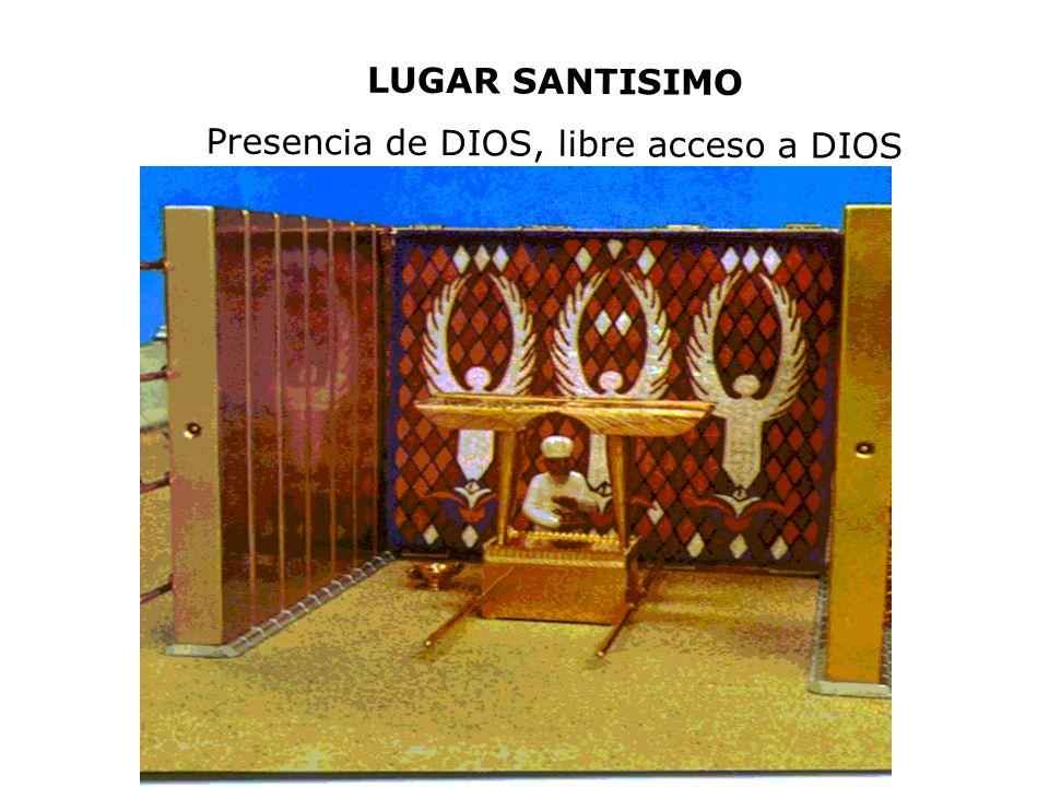 Presencia de DIOS, libre acceso a DIOS