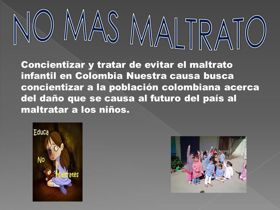 NO MAS MALTRATO