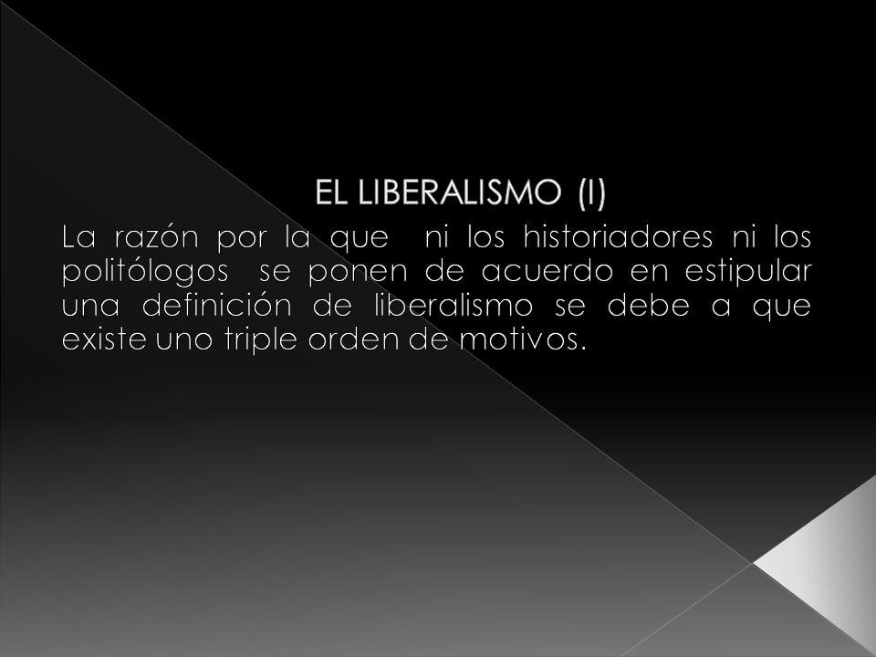 EL LIBERALISMO (I)