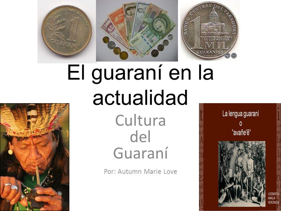 El guaraní en la actualidad