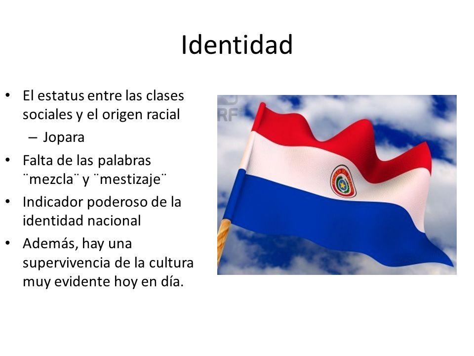 Identidad El estatus entre las clases sociales y el origen racial