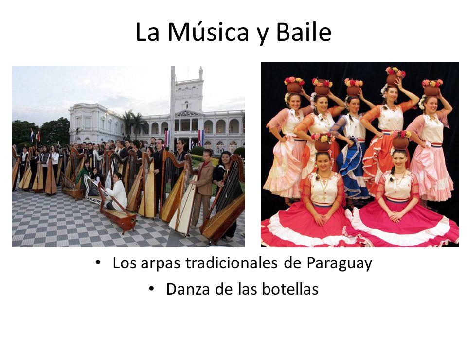 Los arpas tradicionales de Paraguay