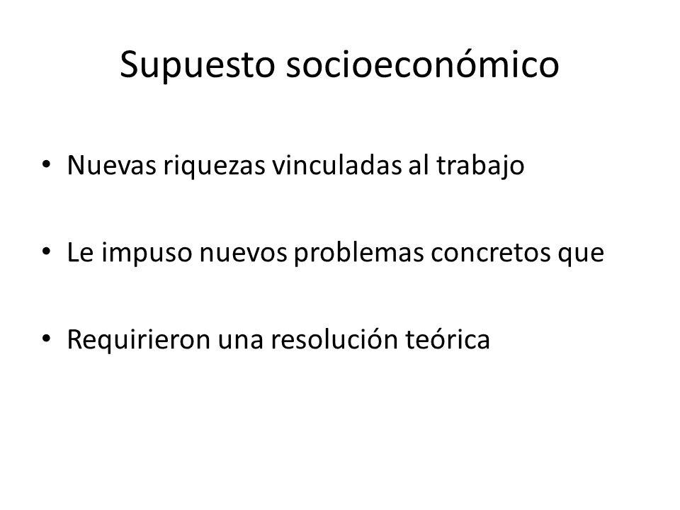 Supuesto socioeconómico