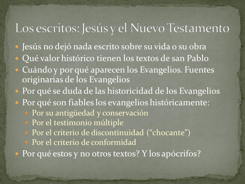 Los escritos: Jesús y el Nuevo Testamento