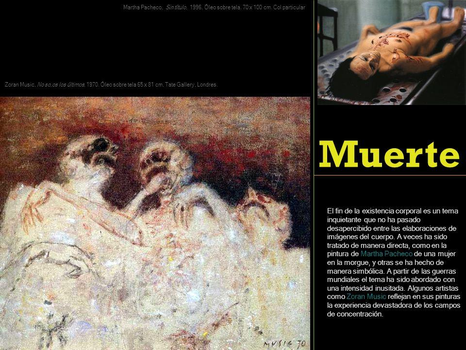 Martha Pacheco, Sin título, 1996. Óleo sobre tela. 70 x 100 cm