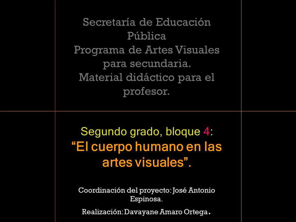El cuerpo humano en las artes visuales .