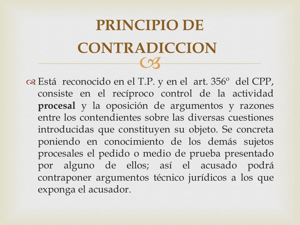 PRINCIPIO DE CONTRADICCION