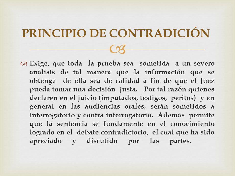 PRINCIPIO DE CONTRADICIÓN