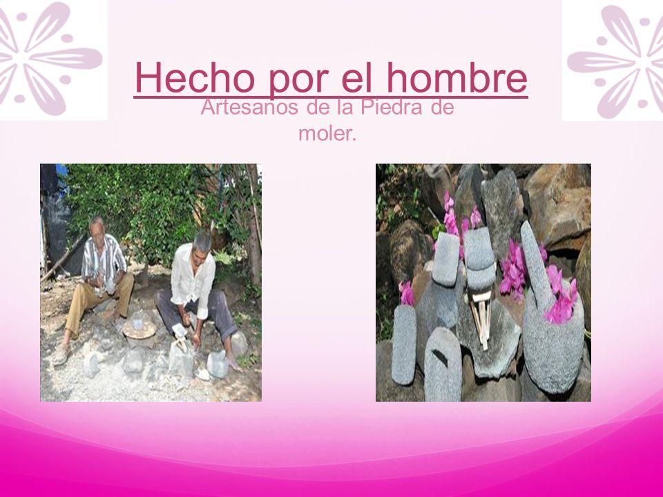 Artesanos de la Piedra de moler.