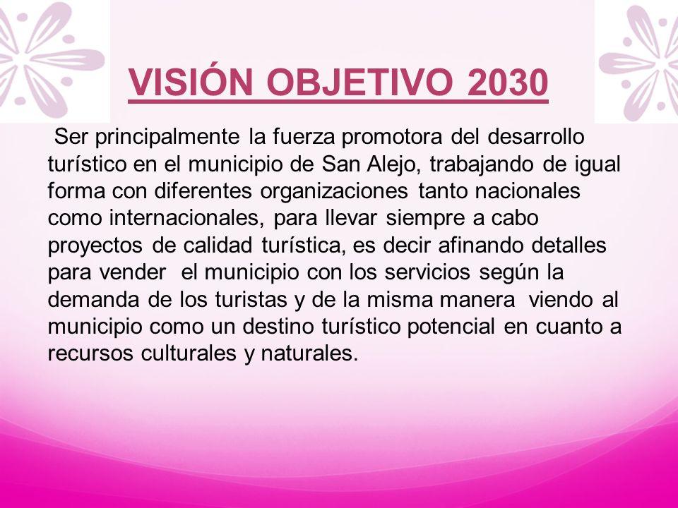 VISIÓN OBJETIVO 2030